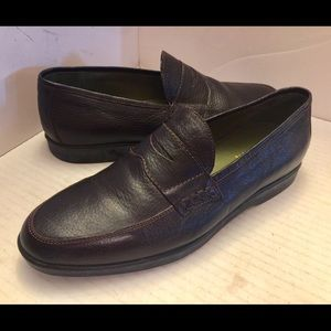 Men's Inkerman handcrafted brown leather loafers